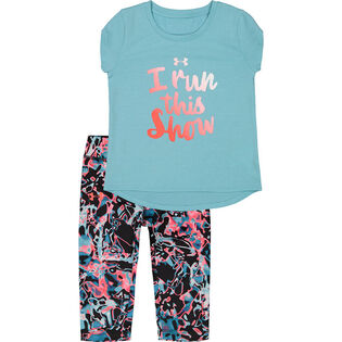 Girls' [2-4T] Run This Show Two-Piece Set