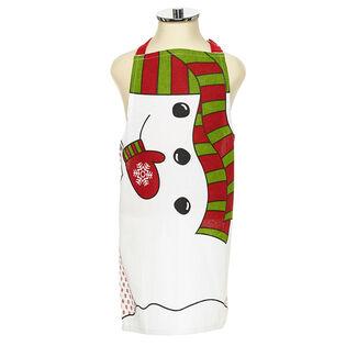 Kids' Holiday Snowman Apron