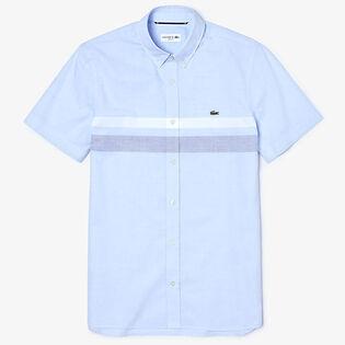 Men's Tricolour Striped Shirt
