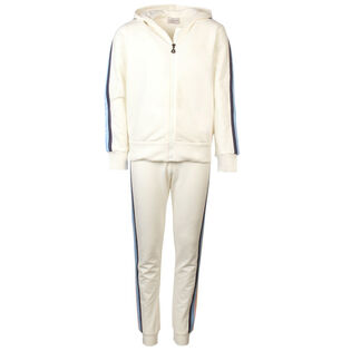 Junior Girls' [8-14] Logo Trim Two-Piece Tracksuit