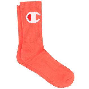 Unisex Big C Logo Crew Sock