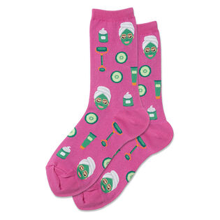 Women's Spa Facial Crew Sock