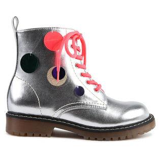 Kids' [11-3] Sequin Metallic Boot