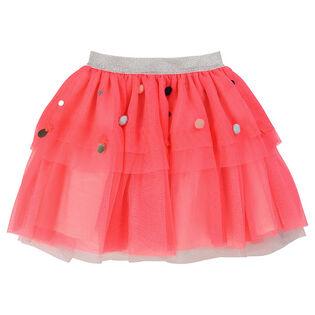 Girls' [3-6] Embellished Tulle Skirt