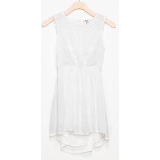 Junior Girls' [7-14] Sleeveless Lace Dress
