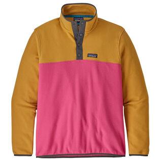 Men's Micro D® Snap-T® Fleece Pullover Top