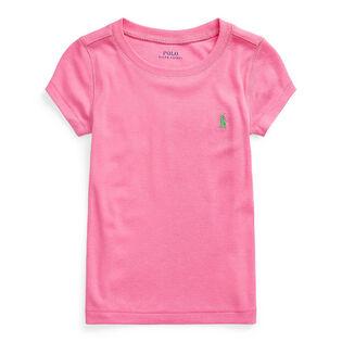 Girls' [2-4] Short Sleeve Crew Neck T-Shirt