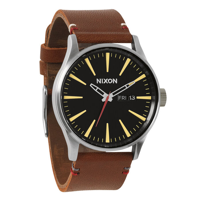 Sentry (Black/ Brown Leather)