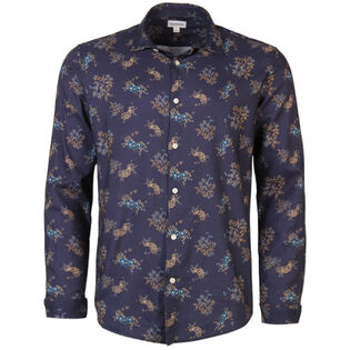Men's Mini Floral Print Shirt
