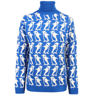 Women's Penguin High Neck Sweater