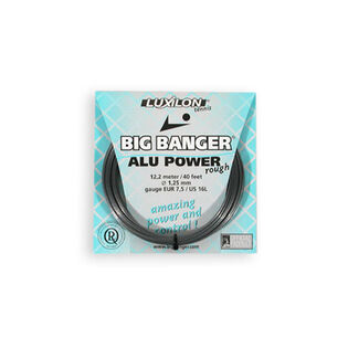 CORDAGE DE TENNIS ALU POWER 125 ROUGH