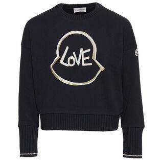 Junior Girls' [8-14] Love Sweatshirt