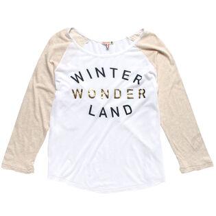 Women's Winter Wonderland Baseball T-Shirt