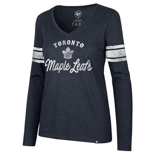 Women's Toronto Maple Leafs Script Club Top