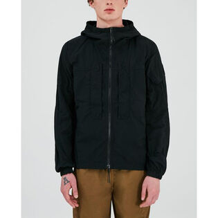 Men's Over-Dyed Nylon Utility Jacket