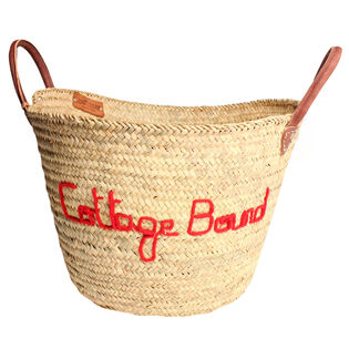 Cottage Bound Carryall Basket