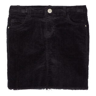 Junior Girls' [8-14] Corduroy Mini Skirt