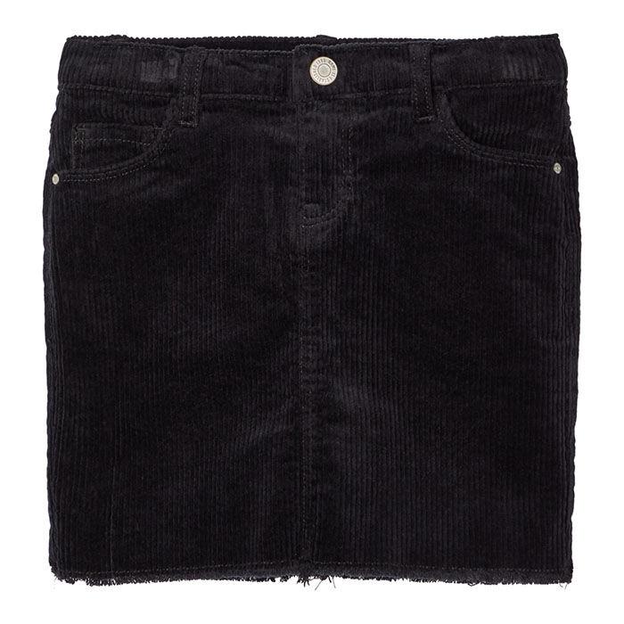 Junior Girls' [8-14] Corduroy Mini Skirt