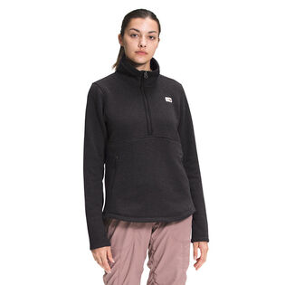 Women's Crescent 1/4-Zip Pullover Top