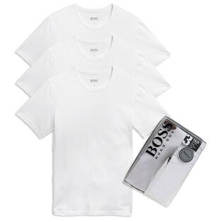Men's Cotton Crew-Neck T-Shirt (3-Pack)