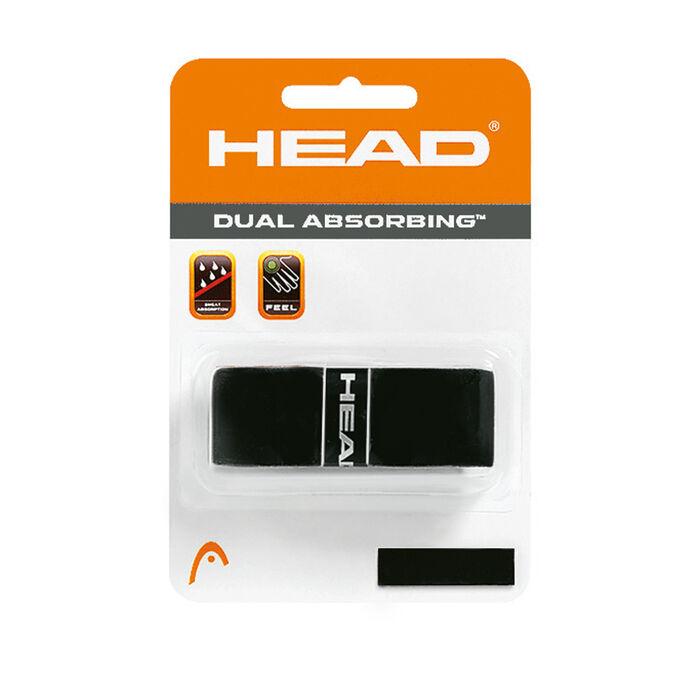 Dual Absorbing Racquet Grip Black