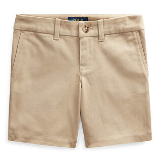 Girls' [5-6X] Stretch Chino Bermuda Short