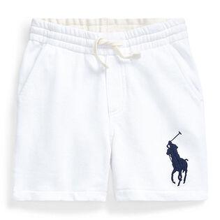 Short en tissu bouclette Big Pony pour garçons [2-4]