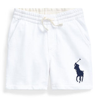 Short en tissu bouclette Big Pony pour garçons [5-7]
