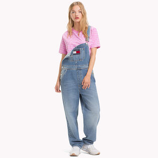 Women's Oversized Denim Overall