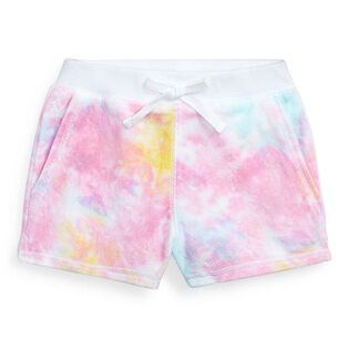 Girls' [2-4] Tie-Dye Terry Short