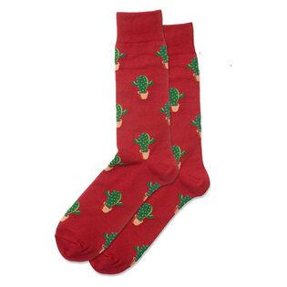 Men's Cactus Crew Sock