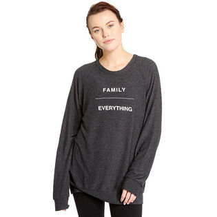 Women's Family Over Everything Sweater