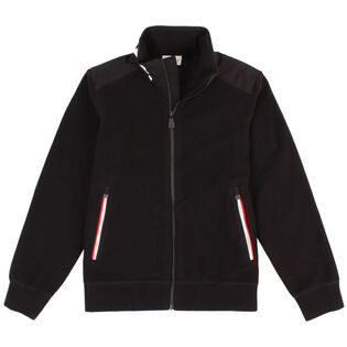Junior Boys' [8-14] Block Logo Cardigan