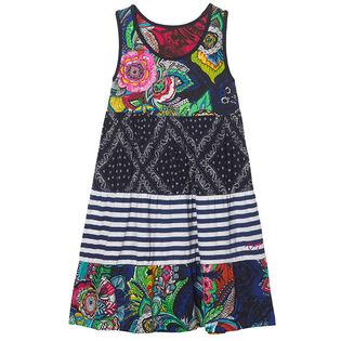 Junior Girls' [7-14] Multi-Print Reversible Dress
