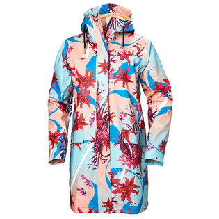 Women's Moss Raincoat