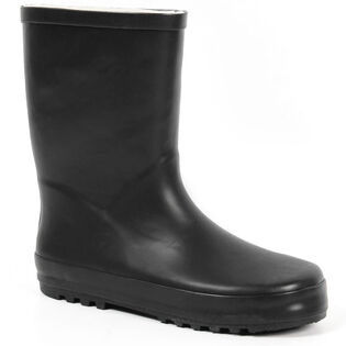 Kids' [11-6] Solid Rain Boot