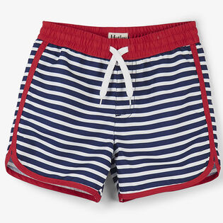 Boys' [2-6] Nautical Stripes Swim Short