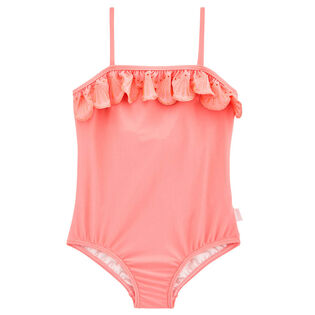Girls' [2-7] Sweet Summer Frill One-Piece Swimsuit