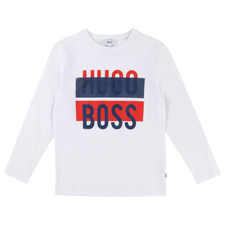Junior Boys' [4-16] Linear Graphic T-Shirt