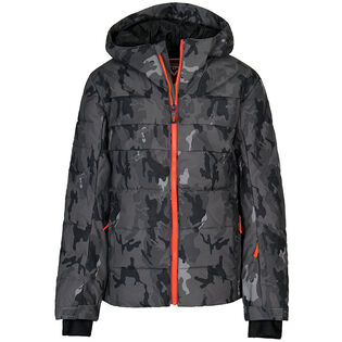 Junior Boys' [8-16] Polydown Camo Jacket