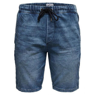 Men's Rod Denim-Look Sweat Short
