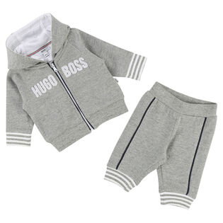 Baby Boys' [3-18M] Logo Two-Piece Track Suit