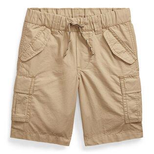 Short cargo en coton antidéchirure pour garçons [2-4]