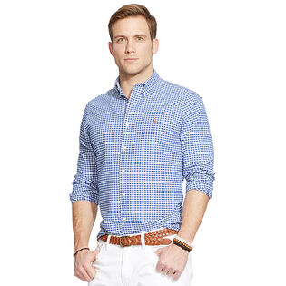 Men's Checked Oxford Shirt