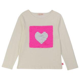 Girls' [3-6] Reversible Sequin T-Shirt