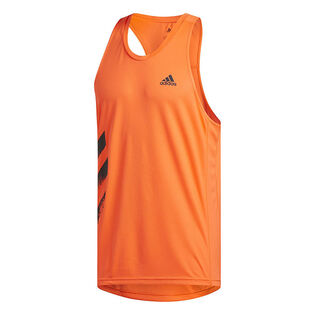 Men's Own The Run 3-Stripes PB Singlet