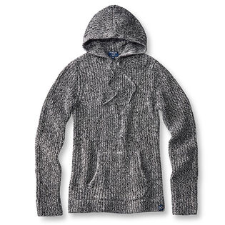 Men's Knit Pullover Hoodie