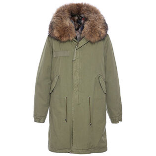 Women's Fur-Lined Army Parka