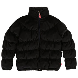 Girls' [4-8] Velvet Puffer Jacket