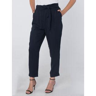 Women's Flowing Fixed Belt Pant